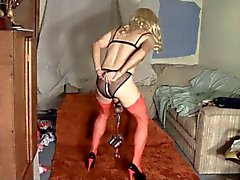 Sissy Streetwhore Weight Training CBT in Heels