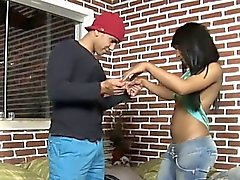 Spruce adorable tranny receives it ever deeper