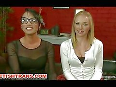 Hot Transsexual Sex with a Doctor Fetish Theme