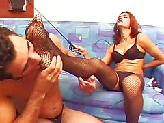 Foot Worshipping Transsexuals 02 - Scene 2