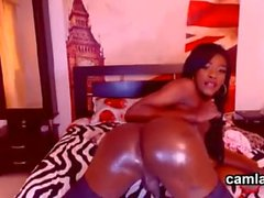 Hot Blooded Amateur Ebony Tranny Hustler