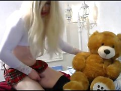 Fucking hot Anna Rabbit is a Teen crossdresser Tranny