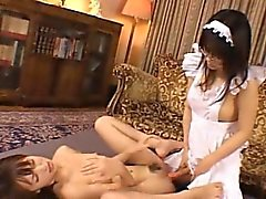 Futanari Maid Fucks a Tiny Teen!