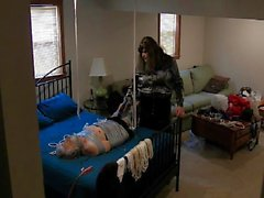 Ronni is Taped & Teased by Brianna PART 2