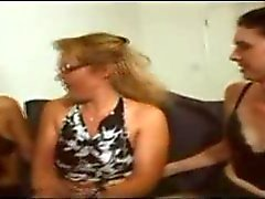 Two trannies fuck a sexy mom