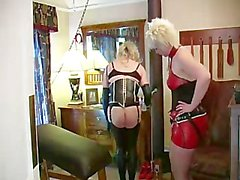 strapon latex sissy training