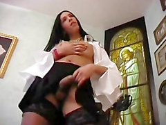 Transsexual Pinup Girls 02 - Scene 2