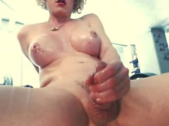Shemale real orgasm 37