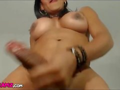 Latina big tits big cock tranny webcam