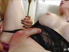 Sexy tranny Sarina Valentina toy screwed