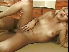 Doggy Frigging With A Blonde Tgirl