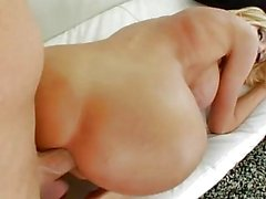 Sexy shemale Kimber James anal banged