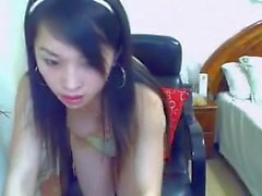 Chinese webcam very sexy girl - more awesome webcams at sheshot