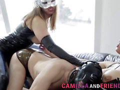 ts superstar Camilla Jolie in a Lusty three way