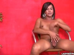 Katrina A Asian Shemale Ladyboy in Cutie Chubby