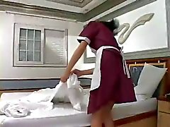 tranny maid loves cock