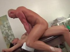 TS Venus Lux and Christian XXX Hard Anal Pounding