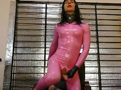 Latex Shemale Cock Insanity