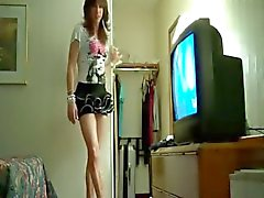 Shemale Carla Strokin and Sweet Crossdresser