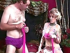 Candy Humiliates Cuckold