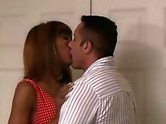 Horny Nick bangs hard fantastic hot tranny Natissa Dreams