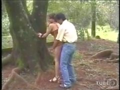 Hot oral & anal love in the forest
