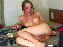 She is drunk, hung and horny