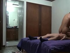 german ass licking tranny gets bareback anal and cumshot