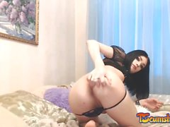 Teen cute ladyboy webcam