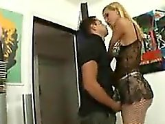 Shemale In Fishnet Stockings