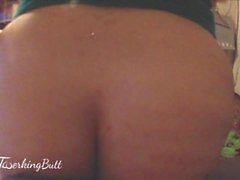 BBW Tanya Mellow twerking hard on that dick