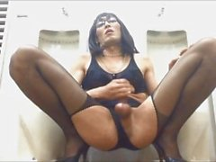 slutty cd mariko jerk off.