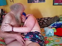 Trans Girl Roleplay Deepthroat Anal w Dirty (not) Grandpa