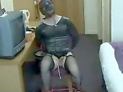 British bondage crossdresser