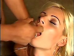 Slim Blonde Loves Cock