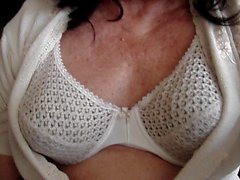Crossdresser in bra