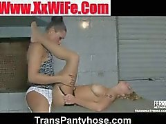 andressa julia tranny pantyhose video