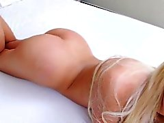 Tranny babe Britney shows her goodies