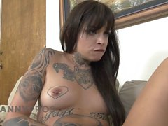 TrannyPros Emo Lesbian Couple Want Casey's Cock Inside! -