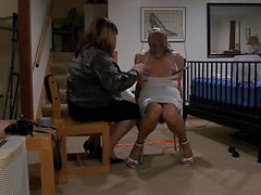 Ronni Dominated in Bondage by Mistress Brianna