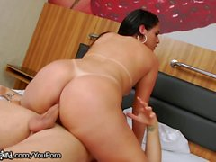 TSPlayground Shes Rides His Cock Raw