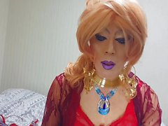 sissy niclo sexy makeup after smoking2