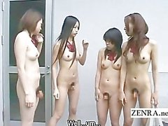 Japan nudist futanari after school encounter subtitled