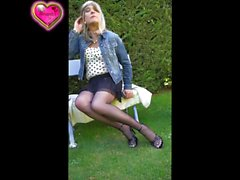 my style jean and black pantyhose platino cleancut