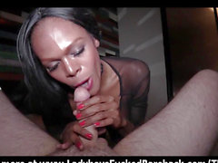 Bloe Eyed Tgirl Devil Pov Fellatio