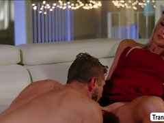 TS Kayleigh finally fucks her husband