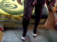 black body stocking smooth clitty