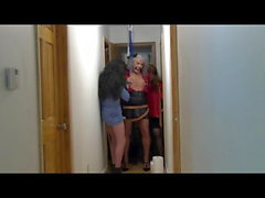 ronni experiences a real hanging ... noose play 10-17-18